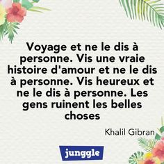 French Words, French Quotes, Quote Citation, Simple Words, Positive Mind, Positive Affirmations, Talk To Me, Quotations, Encouragement