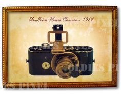 Antique UrLeica 35mm Camera 1914 By Invention by OldiesPixel, $3.25