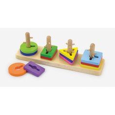 Kreatívne tvary na doske / drevené hračky