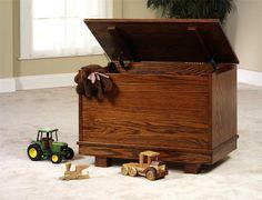 Amish Contempo Toy Box