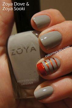 Zoya Dove and Zoya Sooki - www.colormejules.com