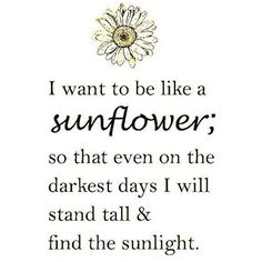 Saturday Say It Like A Sunflower StyleCarrot ❤ liked on Polyvore featuring words, backgrounds, quotes, text and writing
