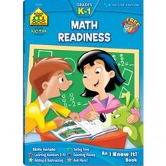 Math Readiness Grades K-1 Workbook - 64 Pages $3.97             http://www.educationaltoysplanet.com/math-readiness-grades-k-1-workbook-64-pages.html