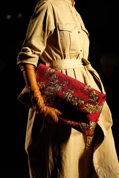 Dries Van Noten Fall 2015 Ready-to-Wear - Details - Gallery - Style.com