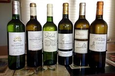White Bordeaux wines - top six in a blind tasting