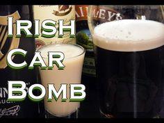 Irish Car Bomb Recipe - St. Patrick's Day Drinks | - TheFNDC