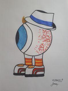 Sketch Donald Duck, Disney Characters, Fictional Characters, Sketch, Art, Sketch Drawing, Art Background, Kunst, Sketches