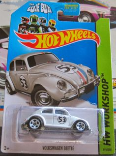 2014 Hot Wheels VW Beetle Herbie The Love Bug