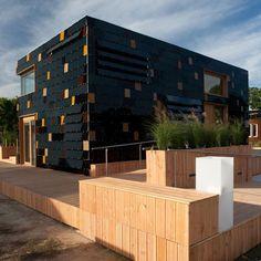 Solar Powered House 1