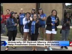 Move In Day at UDM on WDIV-TV