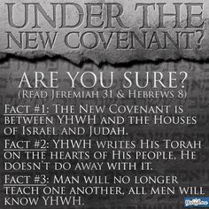 We are to keep his laws, that never changed, but to boast under the law of sacrifice is total nullification of Salvation which is through yahawahshi. For those who say we are no longer under the commandments are straight liars, if he writes the law and embeds it in your heart( alluding to the mind), common sense tells you that in order for something to be written in your heart you'll always REMEMBER to KEEP IT and NEVER do away with it.