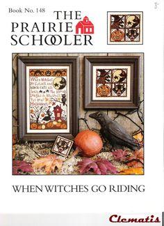 BOOK 148 WHEN WITCHES GO RIDING; PRAIRIE SCHOOLER; Gallery.ru / Photo # 1 - 148 - Clematis