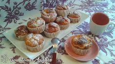Comilonas Lights: Magdalenas de manzana y pudding de vainilla Propoints totales: 20 Propoints por porción: 1,5 Porciones: 14 Ingredientes 3 huevos (6 pp) 1 yogur natural desnatado (1 pp) 1 medida de yogur de leche desnatada (1 pp) 3 cucharaditas edulcorante 1 pizca de sal 50 g maicena (5 pp) 50 g harina de arroz (5 pp) 1 sobre de preparado de pudding sabor vainilla Lidl (1 pp) ½ sobre de levadura en polvo 2 manzanas 2 cucharaditas de miel (1 pp) Canela en polvo