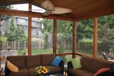 Compares Benefits Of Windows Back Porch Designs Screened In Patio