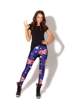 Aussie Bogan Leggings M BNWT $100