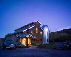 Barn house....when can we move in?  We'll take the old truck too!
