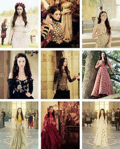 Reign episode 7 red dress quilt