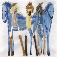 West World   _. . ._ #westworld #wildchild #fashion #blue #bluehairdontcare #steampunk #art #painting #illustration #oilpainting #watercolor #whimsical #fashionillustration #drawing #ootd #fashionisart