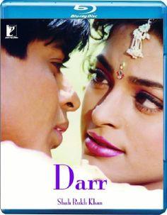 Shahrukh Khan and Juhi Chawla in Yash Chopra's 'Darr- A violent love story' Srk Movies, Hindi Movies, Eye Movie, Pakistani Movies, Juhi Chawla, Bollywood Masala, Full Movies Download, Shahrukh Khan