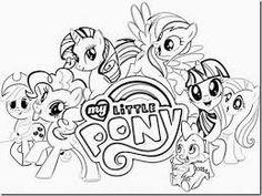 Resultado De Imagen Para Dibujos Paracolorear Mylittle Pony