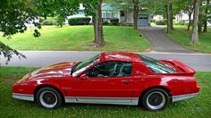 1987 trans am red | RED 1987 PONTIAC FIREBIRD TRANS AM GTA This one looks similar to my 1988 Trans Am.