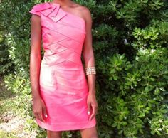 the coral dress