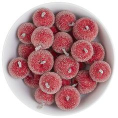Faux Sugared Mini Apples