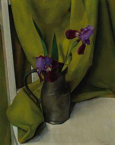 Luigi Lucioni, Irises (1928)