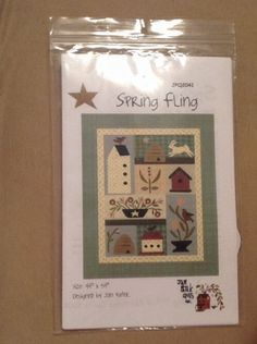Spring Fling Quilt Pattern Pieced/Applique