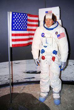 Buzz Aldrin at Madame Tussaud's Wax Museum ~ Las Vegas, Nevada