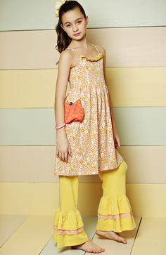 Good Hart, Spring 2013: Sundew dress, Popcorn Big Ruffles  Matilda Jane Girls Clothing