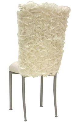 love this ruffled chair back