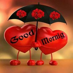 Red Hearts Morning Love Quotes from Good morning Love Quotes Images Good Morning Love Messages, Good Morning Picture, Good Night Image, Good Morning Greetings, Good Morning Good Night, Morning Pictures, Good Morning Wishes, Calin Gif, Good Morning Images Download