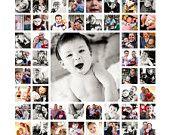 "20""x20"" Photo Collage Canvas"