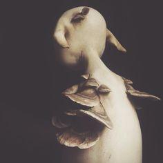 mahlimae art doll   sculpture   fungi