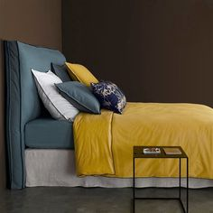 housse de couette lin lav elina. Black Bedroom Furniture Sets. Home Design Ideas