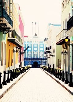 Historical Buildings of Old San Juan  Fine Art by kimfearheiley, $15.00