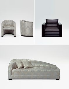 Cool Furniture, Modern Furniture, Furniture Design, Sofa Bench, Sofa Chair, Luxury Interior Design, Interior Architecture, Living Room Interior, Living Room Decor
