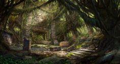 crystal ruins concept art - Google 検索