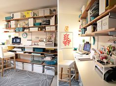Get Up, Stand Up: 10 Do-It-Yourself Standing Desks via Brit + Co.