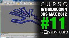 Introducción a 3ds Max 2012 -11- Edición avanzada de objetos bidimensionales.