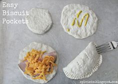 Super Easy Meal: Biscuit Pockets... These truly are super easy and good.