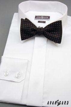 Pánská košile s vázacím motýlkem AVANTGARD