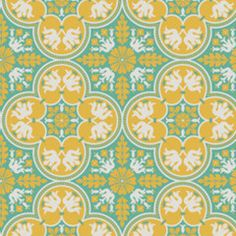 Historic Tile in Canary from Notting Hill by Joel Dewberry for Free Spirit