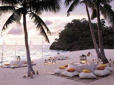 Beach wedding / Eventos  Catering / La Romana / Dominican Republic / https://www.facebook.com/eventosycateringlaromana?fref=ts