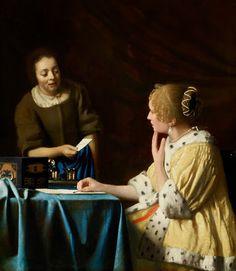 Mistress and Maid - Johannes Vermeer — Google Arts & Culture