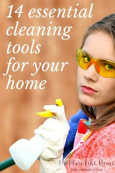 Great list of cleaning products to try ...