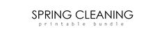 Organizing Made Fun: The ULTIMATE Spring Cleaning Bundle 2015