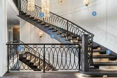 Scott McGillivray Main Staircase - Get the Look