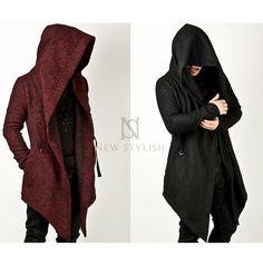 Rebelsmarket avant garde mens assassin creed inspired hoodie hoodies and sweatshirts 4